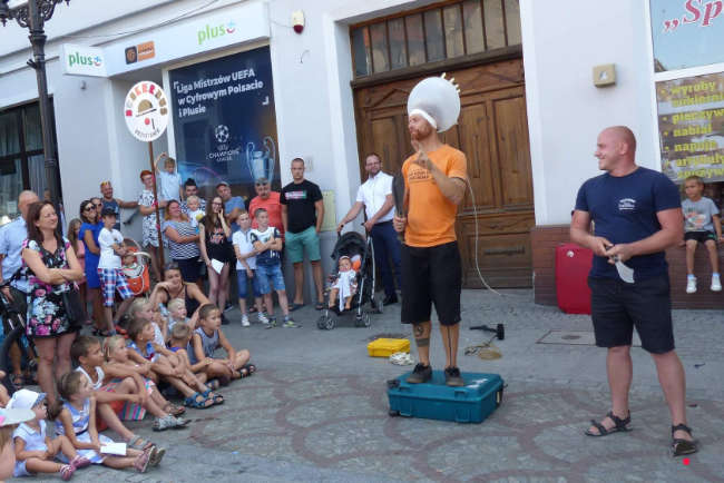 Krotozsyn, Poland - more Busker Bus 2018